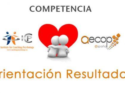 """Orientación a Resultados"" Competencia Coaching: A. Martín"